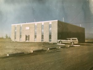 Hawco manufacture building being built