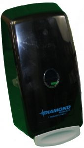 diamond hand soap dispenser black