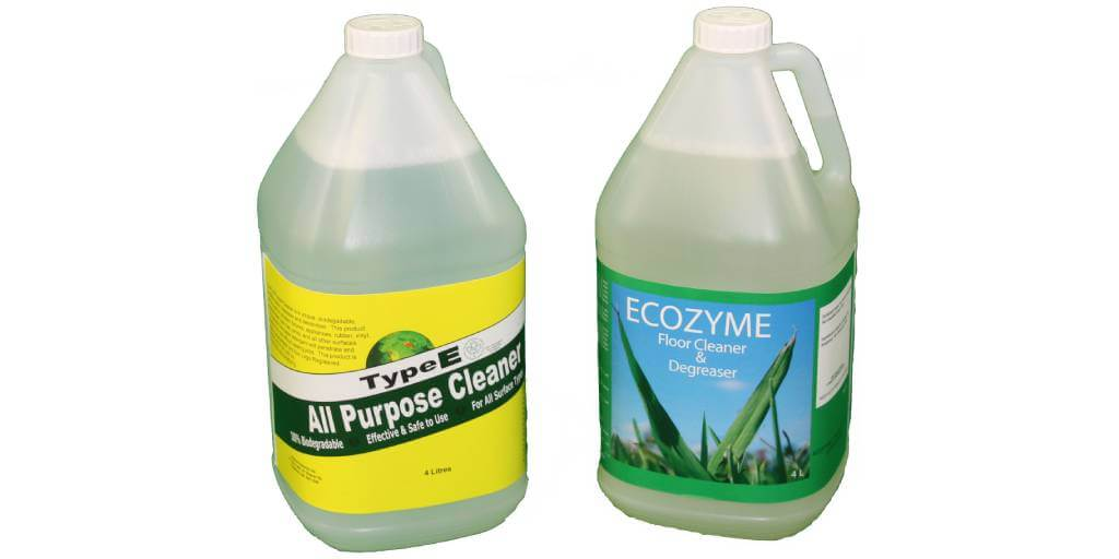 2 eco friendly cleaners