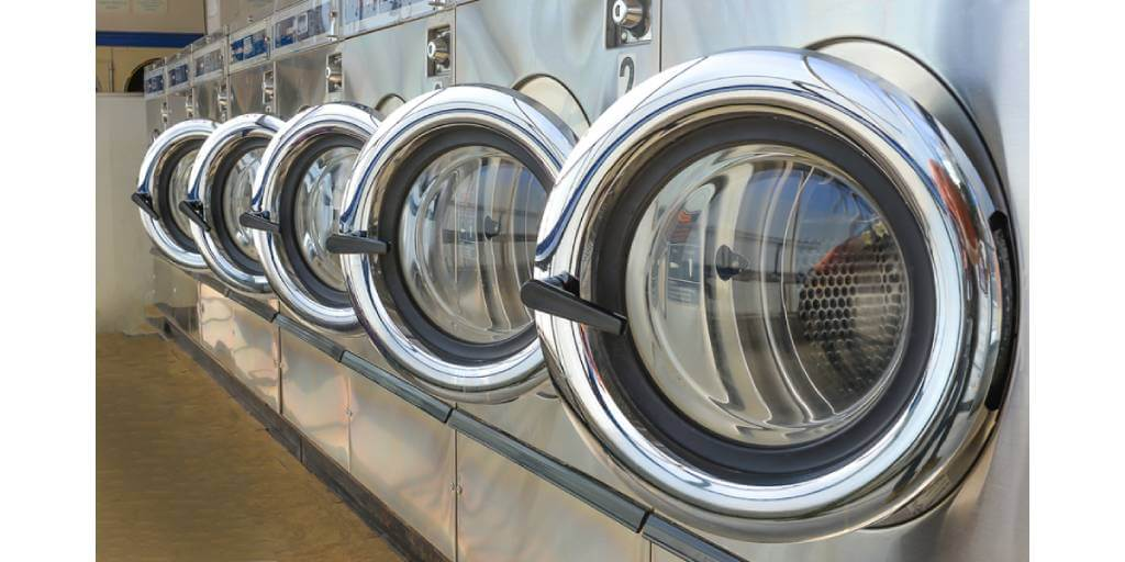 stainless front load washer side by side